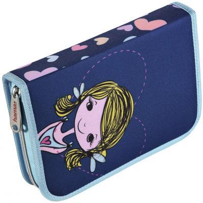 Пенал HAMA Lovely girl 00139128 мешок для обуви hama lovely girl 00139115