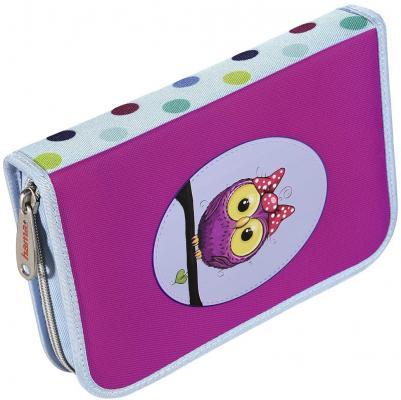Пенал HAMA Sweet owl 00139130 рюкзак hama sweet owl розовый голубой