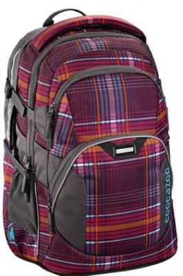 Рюкзак светоотражающие материалы Coocazoo JobJobber2 The Line Purple 30 л бордовый оранжевый 00129883