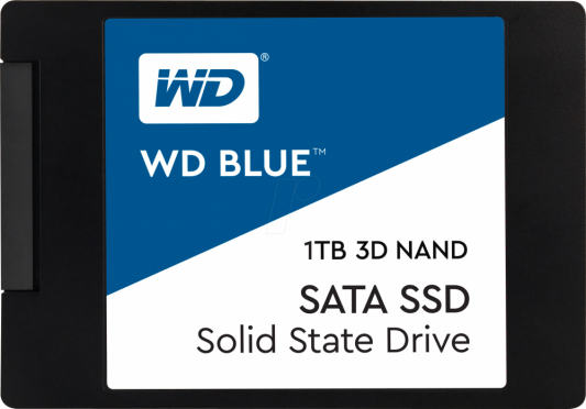 Твердотельный накопитель SSD 2.5 1Tb Western Digital Blue Read 560Mb/s Write 530Mb/s SATAIII WDS100T2B0A free shipping digital mini invisible canal hearing aid digital as seen on tv ear machine s 10b