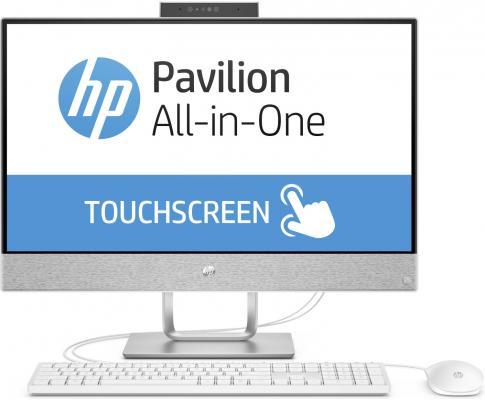 HP Pavilion 24I 24-x010ur (Slim bezel) 23.8(1920x1080)/Touch/Intel Core i7 7700T(2.9Ghz)/12288Mb/1000+128SSDGb/noDVD/Int:Intel HD Graphics 630/Cam/BT/WiFi/war 1y/5.52kg/blizzard white/W10 + USB KBD, USB MOUSE моноблок hp pavilion 24 x009ur intel core i7 7700t 8гб 2тб intel hd graphics 630 windows 10 белый [2mj60ea]