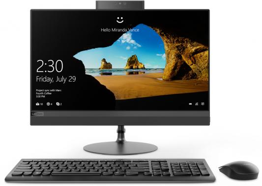 Моноблок 21.5 Lenovo IdeaCentre AIO 520-22IKU 1920 x 1080 Intel Pentium-4415U 4Gb 1 Tb Intel HD Graphics 610 DOS черный F0D5002RRK lenovo ideacentre aio 520 22iku silver моноблок f0d5002vrk