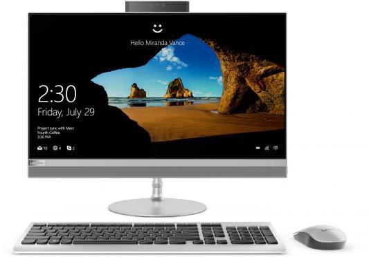 Моноблок 23.8 Lenovo IdeaCentre AIO 520-24IKL 1920 x 1080 Intel Core i5-7400T 8Gb 1Tb Intel HD Graphics 630 Windows 10 серебристый F0D1005WRK моноблок lenovo ideacentre aio 520 22iku ms silver f0d5000srk intel core i5 7200u 2 5 ghz 4096mb 1000gb dvd rw intel hd graphics wi fi bluetooth cam 21 5 1920x1080 dos