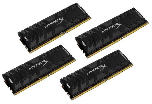 Оперативная память 16Gb (4x4Gb) PC4-24000 3000MHz DDR4 DIMM CL15 Kingston HX430C15PB3K4/16 оперативная память 128gb 8x16gb pc4 24000 3000mhz ddr4 dimm corsair cmr128gx4m8c3000c16w