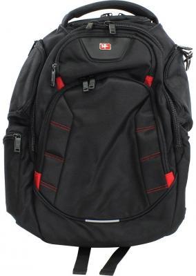 Рюкзак для ноутбука 16 Continent BP-303 нейлон полиэстер черный 16 рюкзак для ноутбука continent bp 302 нейлоновый черный