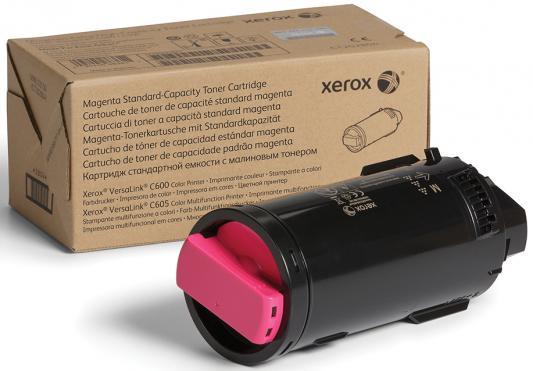 Картридж Xerox 106R03913 для VersaLink C600/C605 пурпурный 10100стр картридж xerox 106r03910 для versalink c600 c605 желтый 6000стр