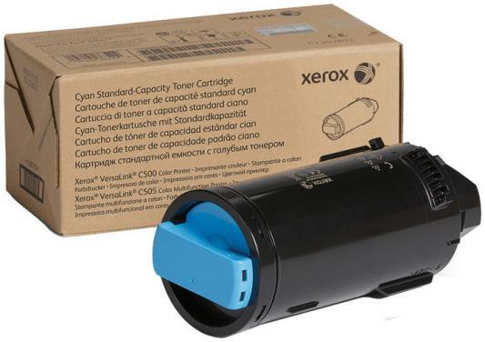 Картридж Xerox 106R03908 для VersaLink C600/C605 голубой 6000стр картридж xerox 106r03910 для versalink c600 c605 желтый 6000стр