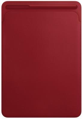 "Чехол Apple ""Leather Sleeve"" для iPad Pro 10.5 красный MR5L2ZM/A"