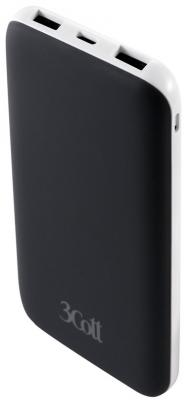 Портативное зарядное устройство 3Cott 3C-PB-100TC 10000mAh черный 3c pb 100tc