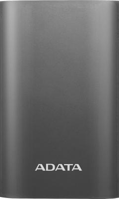 все цены на Портативное зарядное устройство A-Data AA10050QC-USBC-5V-CTI 10050mAh титан онлайн