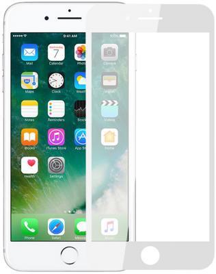 Защитное стекло 2.5D Perfeo Full Screen Gorilla для iPhone 8 0.33 мм белая рамка PF_5326