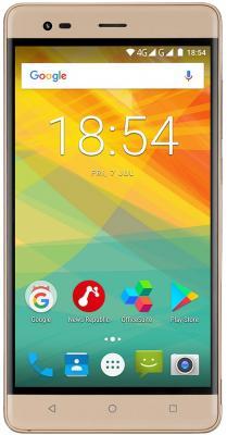 Смартфон Prestigio Grace R5 LTE 16 Гб золотистый (PSP5552DUOGOLD) смартфон prestigio grace r5 lte 16 гб золотистый psp5552duogold