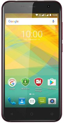 "Смартфон Prestigio Muze B3 красный 5"" 8 Гб Wi-Fi GPS 3G PSP3512DUOWINE"