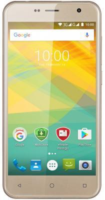 "Смартфон Prestigio Muze B3 золотистый 5"" 8 Гб Wi-Fi GPS 3G PSP3512DUOGOLD"