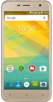 "Смартфон Prestigio Muze B7 золотистый 5"" 16 Гб Wi-Fi GPS 3G PSP7511DUOGOLD"