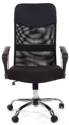 Кресло Русские кресла РК 160 15-21 обивка сиденье ткань стандарт черная спинка сетка черная