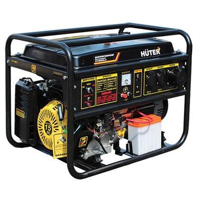 Генератор Huter DY8000L бензиновый 15 л.с