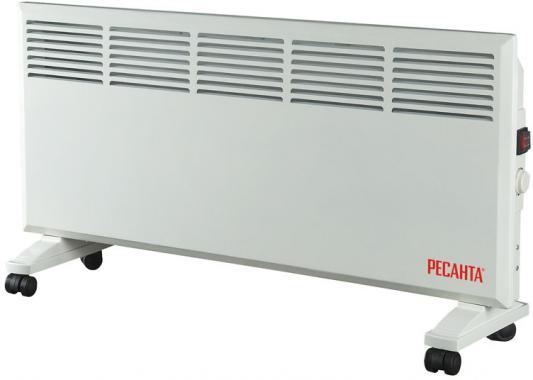Конвектор Ресанта ОК-2000 2000 Вт колеса для перемещения белый конвектор ресанта ок 2000