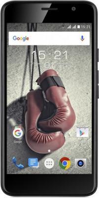 Смартфон Fly FS524 Knockout черный 5 8 Гб LTE Wi-Fi GPS 3G смартфон fly nimbus 10 fs512 черный