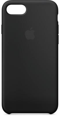 Накладка Apple Silicone Case для iPhone 7 iPhone 8 чёрный MQGK2ZM/A чехол накладка apple silicone case black для iphone 7 mmw82zm a силикон черный