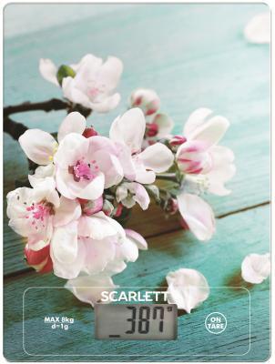 Весы кухонные Scarlett SC-KS57P20 рисунок кухонные весы scarlett sc ks57p38