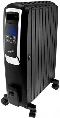 Масляный радиатор Unit UOR-993 2000 Вт дисплей таймер пульт ДУ чёрный масляный радиатор unit uor 940 2000 вт белый