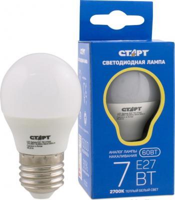 Лампа светодиодная шар СТАРТ LEDSphereE27 7W27 E27 7W 2700K