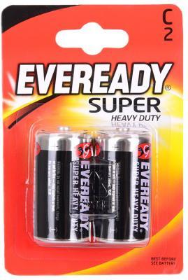 Батарейки Energizer Carbon Zinc Eveready C/R14 2 шт 38749