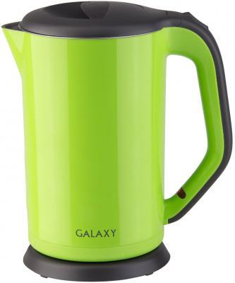 Чайник GALAXY GL0318 2000 Вт зелёный 1.7 л металл/пластик