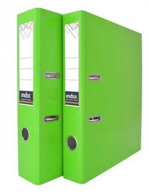 Папка-регистратор COLOURPLAY, 80 мм, ламинированная, неоновая зеленая IND 8 LA GN папка регистратор 80 мм ламинированная серая 2
