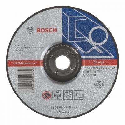 Обдирочный круг Bosch 180х6мм 2608600315