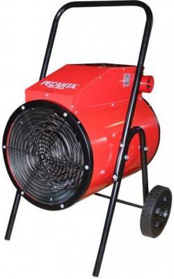 цена на Тепловая пушка Ресанта ТЭП-15000К 1500 Вт вентилятор колеса для перемещения красный