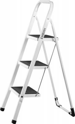Лестница-стремянка Сибин стальная 3 ступени 38807-03