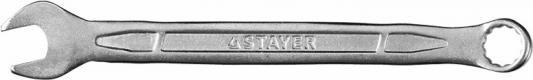 Ключ Stayer Profi гаечный комбинированный Cr-V сталь хромированный 9мм 27081-09