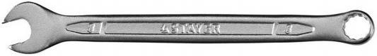 Ключ Stayer Profi гаечный комбинированный Cr-V сталь хромированный 8мм 27081-08