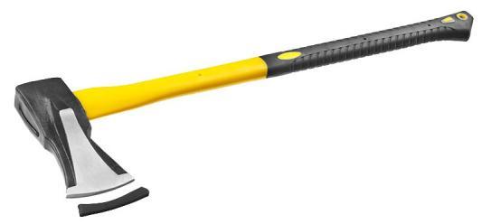 Топор-колун Stayer Professional кованый с двухкомпонентной фиберглассовой рукояткой 2кг/720мм 20623-20 bahco ffss 1 5 900fg топор с фиберглассовой рукояткой