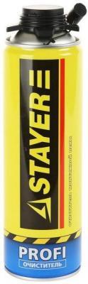 Очиститель монтажной пены Stayer Profi 500мл 41139 очиститель пены mastertex 500мл