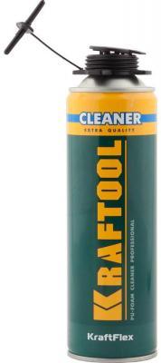 Очиститель монтажной пены Kraftool Kraftflex Premium Cleaner 500мл 41189_z01 очиститель для незатвердевшей пены makroflex premium cleaner 500 мл 1338403