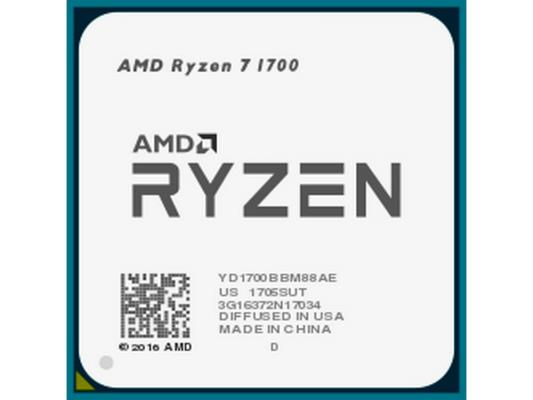 Процессор AMD Ryzen 7 1700 YD1700BBM88AE Socket AM4 OEM неисправное оборудование