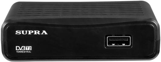 Тюнер цифровой Supra SDT-65 телефон supra stl 111 белый