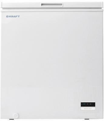 Морозильная камера Kraft BD(W)-200BL белый морозильный ларь kraft bd w 350qx белый