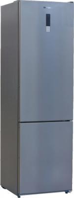 Купить со скидкой Холодильник SHIVAKI BMR-2001DNFX серебристый