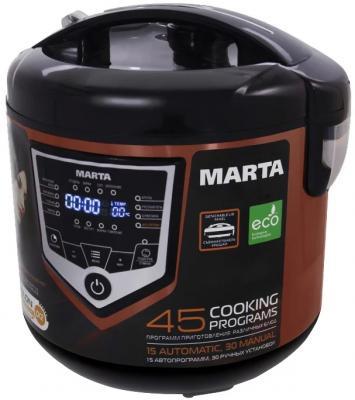Мультиварка Marta MT-4301 темный янтарь 860 Вт 5 л маринатор marta mt 2090