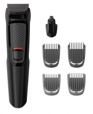 Машинка для стрижки бороды Philips MG3710/15 чёрный машинка для стрижки волос и бороды philips hc 5100 15