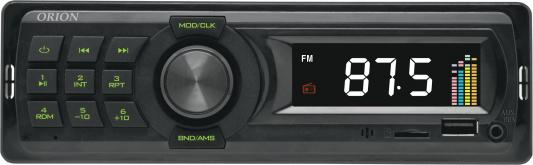 Автомагнитола Orion DHO-1801U USB MP3 FM 1DIN 4x40Вт черный