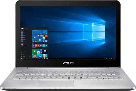 Ноутбук ASUS N552VX-FW356T 15.6 1920x1080 Intel Core i7-6700HQ 90NB09P1-M04210 ноутбук игровой asus n552vx fw356t