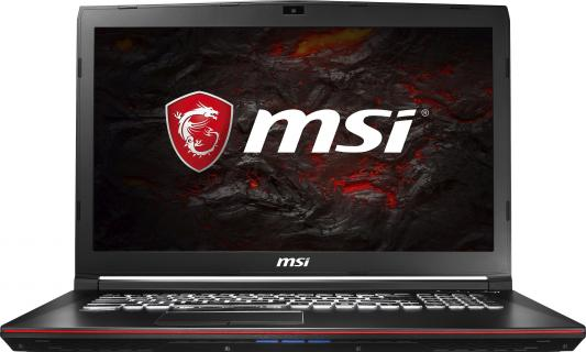 Ноутбук MSI GP72M 7RDX-1238RU Leopard 17.3 1920x1080 Intel Core i7-7700HQ 9S7-1799D3-1238 ноутбук msi gp72m 7rdx 1238ru leopard 9s7 1799d3 1238 intel core i7 7700hq 2 8 ghz 16384mb 1000gb no odd nvidia geforce gtx 1050 4096mb wi fi bluetooth cam 17 3 1920x1080 windows 10 64 bit