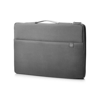 Чехол для ноутбука 17.3 HP Carry Sleeve синтетика серый 1PD68AA чехол для ноутбука 17 hp carry sleeve черный серебристый