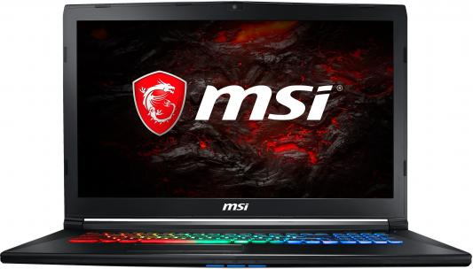 Ноутбук MSI GP72MVR 7RFX-678RU Leopard Pro 17.3 1920x1080 Intel Core i7-7700HQ 9S7-179BC3-678 ноутбук msi gp72 6qf 274ru leopard pro 17 3 1920x1080 intel core i5 6300hq 9s7 179553 274