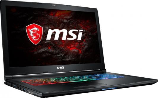 """Ноутбук MSI GP72MVR 7RFX-678RU Leopard Pro 17.3"""" 1920x1080 Intel Core i7-7700HQ 9S7-179BC3-678"""